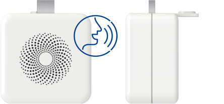 Accesorio de altavoz USB para conectar al Calentador estanco Low NOX Zeus 3 y oír la información mostrada en la pantalla.