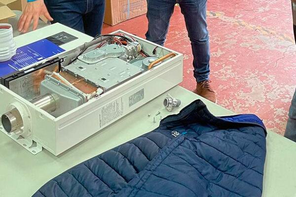 Presentaciones del calentador estanco Low NOX  Zeus.3